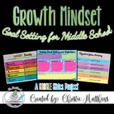 Growth Mindset Goal Setting for Middle School Students Goo