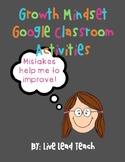 Growth Mindset Digital Classroom Activities