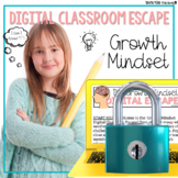 Growth Mindset Google Classroom Digital Escape Room Back to School Activities