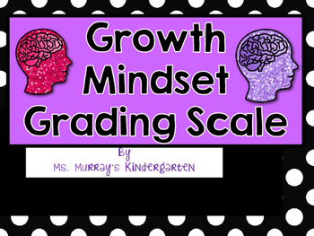 Growth Mindset Grading Scale