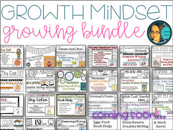 Growth Mindset- Growing Bundle-Book Studies
