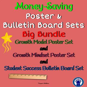 Growth Mindset/Growth Model/Student Success Sets Big Bundle