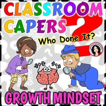 Growth Mindset Guess Who Game Classroom Capers