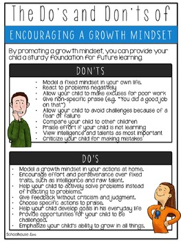 Growth Mindset Parent Handout