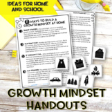 Growth Mindset Handouts
