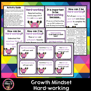 Growth Mindset Hard-working