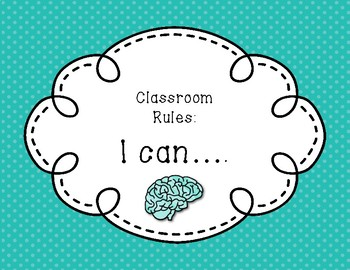 """Growth Mindset """"I Can"""" poster"""