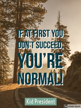 Growth Mindset - If At First You Don't Succeed You're Normal