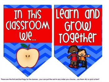 Growth Mindset In this Classroom We Banner