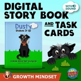 Growth Mindset Interactive Digital Story Book and Task Cards