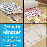 Growth Mindset: Interactive Goal Setting FREEBIE