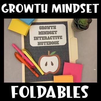 Study Skills Interactive Notebook (Growth Mindset)