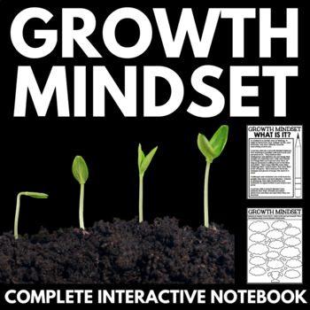 Growth Mindset Interactive Notebook - Graphic Organizers -