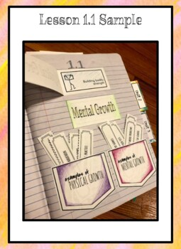Growth Mindset Interactive Notebook l Mini Lessons l Exit Tickets