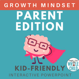 Growth Mindset Interactive PPT: Parent/Homeschooling Edition