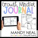 Growth Mindset Journal Activities | Digital + Printable