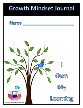 Growth Mindset Journal - I own my learning