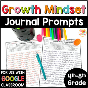 Growth Mindset Journal Prompts