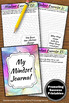 Growth Mindset Journal Prompts, School Counseling Activities, Goal Setting 2020