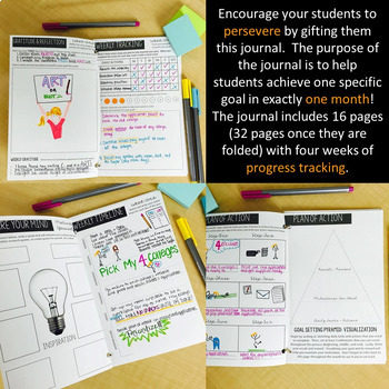 Growth Mindset Journal for Teens