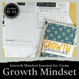 Growth Mindset Journal for Teens: Social Emotional Learning