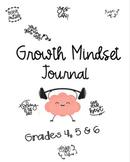 Growth Mindset Journals- Grades 4,5,6