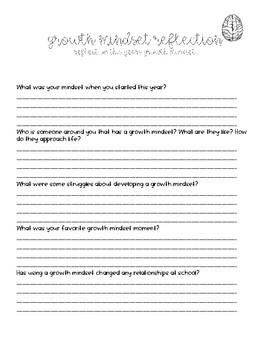 Growth Mindset -June Activity