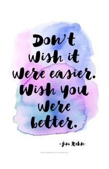"""Growth Mindset EXTRA-LARGE up to 30x40"""" Watercolor Posters {Classroom Decor}"""