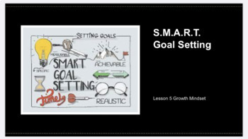 Growth Mindset Lesson 5: S.M.A.R.T. Goal Setting