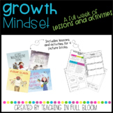 Growth Mindset Lesson Bundle with Activities