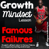 Growth Mindset Lesson - Famous Failures