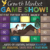 Growth Mindset Lesson: Fun, Interactive Growth Mindset Lesson and Quiz Show Game