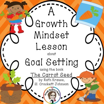 Growth Mindset Lesson about Goal Setting using the Book Th