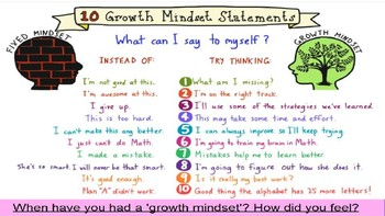 Growth Mindset Lesson using Class Dojo (Lesson 1)