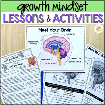 Growth Mindset Activities and Lessons  BUNDLE