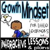 Growth Mindset Lessons Kindergarten First Grade Second Grade