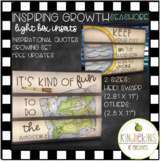 Inspiring Growth Light Box Inserts