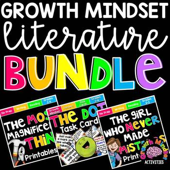 Growth Mindset Literature BUNDLE for Grades 2-4