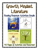 Growth Mindset Literature Bundle--40 pages of resources!