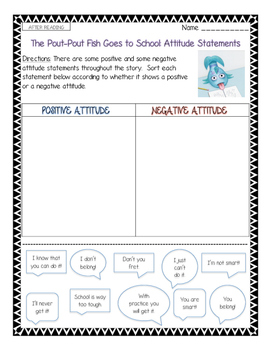 Growth Mindset Literature Bundle--More than 35 pages of resources!