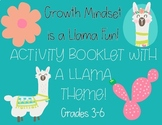 Growth Mindset Llama Themed
