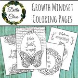 Growth Mindset Mandala Coloring Pages