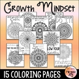 Growth Mindset Coloring Pages / Posters