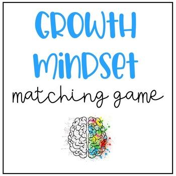Growth Mindset Match Game