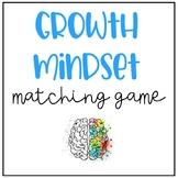 Growth Mindset Matching Game
