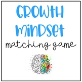 Growth Mindset Match Game