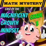 Growth Mindset Math Mystery 3rd Grade - Addition, Subtract