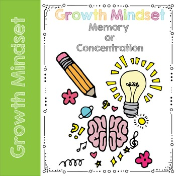 Growth Mindset Memory Game