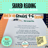 Shared Reading on GROWTH MINDSET: Ontario Curriculum