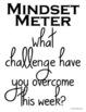 Growth Mindset Mindset Meter Freebie